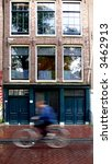 Anne Franks House In Amsterdam...