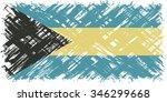 bahamas grunge flag. vector...   Shutterstock .eps vector #346299668