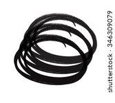 black circles | Shutterstock . vector #346309079