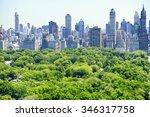 new york city skyline | Shutterstock . vector #346317758