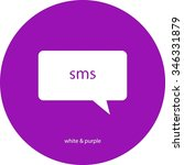 sms icon | Shutterstock .eps vector #346331879