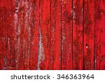 Red Barn Board Wall From Farm...