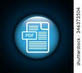 interner download round icon... | Shutterstock .eps vector #346373504