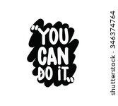 motivational inspirational...   Shutterstock .eps vector #346374764