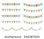 vector illustration of colorful ... | Shutterstock .eps vector #346387034