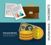 financial market graphic design ... | Shutterstock .eps vector #346388873