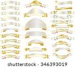 vector set of luxury banners...   Shutterstock .eps vector #346393019
