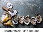 Open Oysters Fines De Claire O...