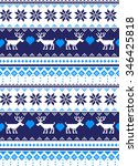 new year's christmas pattern... | Shutterstock .eps vector #346425818
