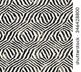 abstract distressed striped... | Shutterstock . vector #346428800