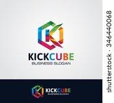 letter k logo | Shutterstock .eps vector #346440068