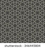 decorative seamless islamic... | Shutterstock .eps vector #346445804