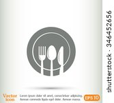 vector illustration sign with... | Shutterstock .eps vector #346452656