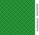 seamless green and white op art ... | Shutterstock . vector #346456949