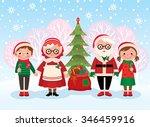 stock vector cartoon... | Shutterstock .eps vector #346459916