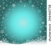 winter night background with...   Shutterstock .eps vector #346460738