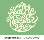 hand drawing doodle of happy... | Shutterstock .eps vector #346489949