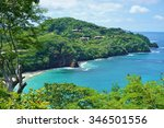 the quiet playa virador in... | Shutterstock . vector #346501556
