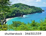 the quiet playa virador in... | Shutterstock . vector #346501559