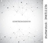 geometric grey background... | Shutterstock .eps vector #346511156