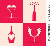 creative icons for bar or... | Shutterstock .eps vector #346513730