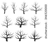 abstract illustration   tree... | Shutterstock .eps vector #346520000