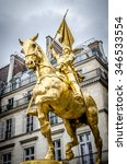 The Golden Statue Of Saint Joa...