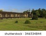angkor wat  capital temple  ... | Shutterstock . vector #346534844