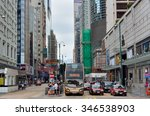 hongkong  china   october 25 ... | Shutterstock . vector #346538903