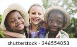 child children childhood fun...   Shutterstock . vector #346554053