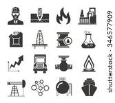 oil icons | Shutterstock .eps vector #346577909