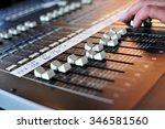 Sound mix board