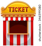 Ticket Booth At The Carnival...