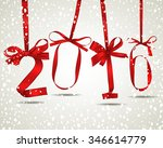 vector illustration of new year ... | Shutterstock .eps vector #346614779