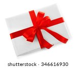 beautiful gift with bow... | Shutterstock . vector #346616930