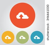 upload from cloud icon. upload...