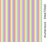 Vector Vertical Striped Rainbo...