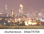 kowloon taken from a high angle.... | Shutterstock . vector #346674704