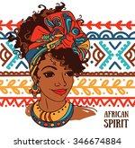 Beautiful African American...