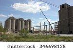 cement factory | Shutterstock . vector #346698128