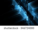 abstract business science or... | Shutterstock . vector #346724000