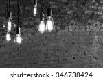 decorative antique edison style ... | Shutterstock . vector #346738424