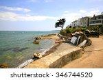 seaview  isle of wight  uk.... | Shutterstock . vector #346744520