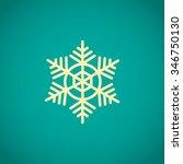 snowflake icon | Shutterstock .eps vector #346750130