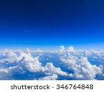 White Cloud On Blue Sky. See...