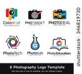 photography logo template... | Shutterstock .eps vector #346819730