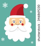 santa claus | Shutterstock .eps vector #346869230