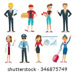 people with different... | Shutterstock .eps vector #346875749