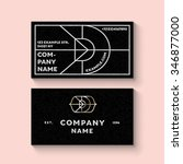 trendy business card template...