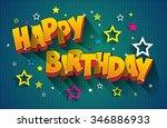 Happy Birthday Greeting Card On ...